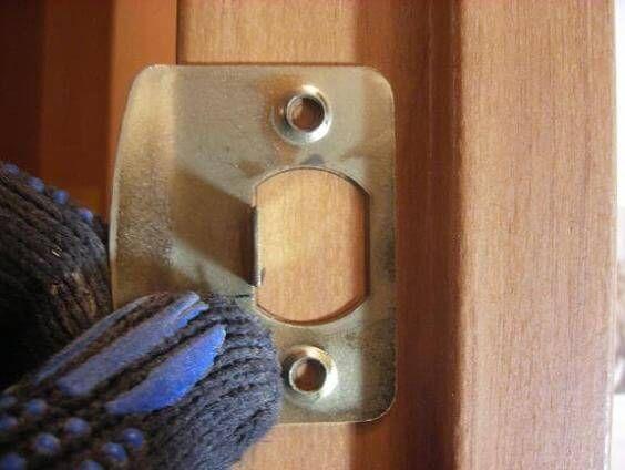 Ответная планка замка двери