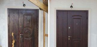 Отреставрированная дверь
