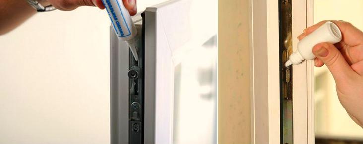 Смазка балконной двери