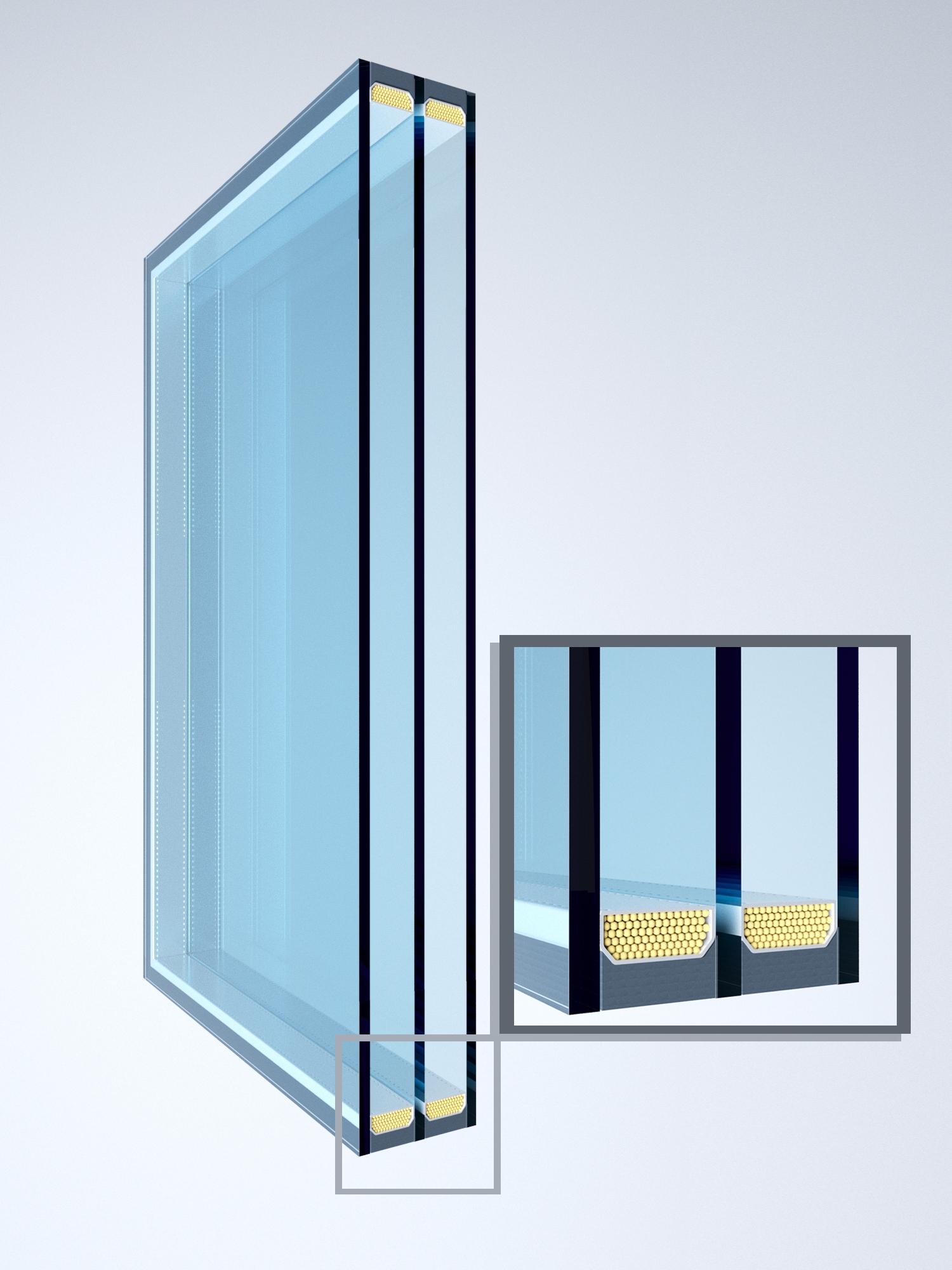 Тройной стеклопакет картинки