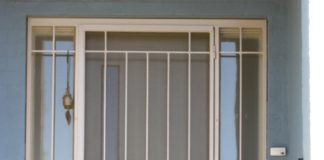 Внешний вид двери-решетки