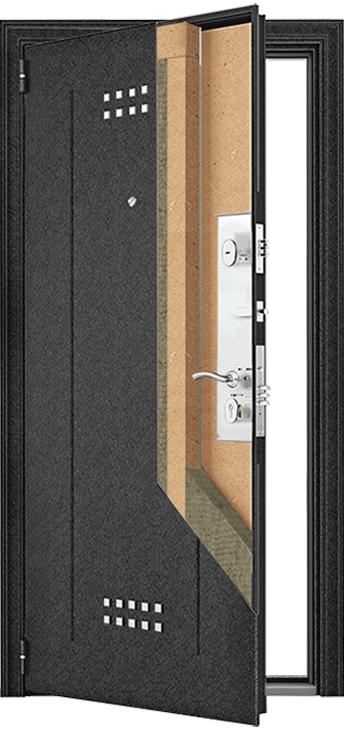 Конструкция дверей серии М
