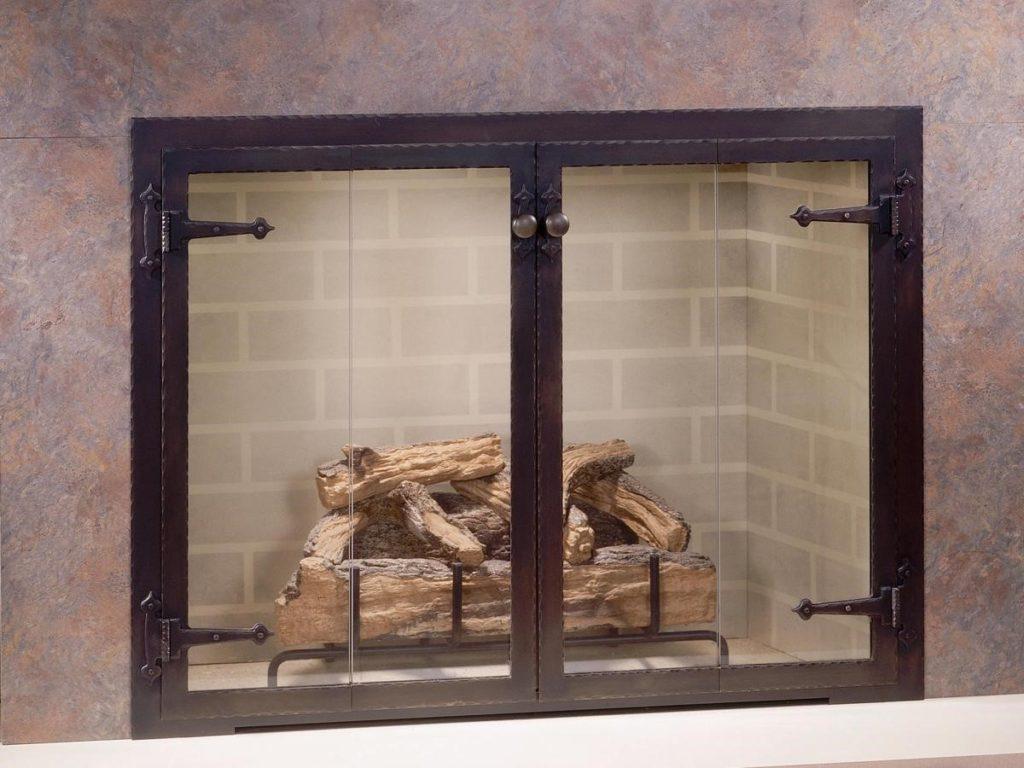 Двойная дверца для печей