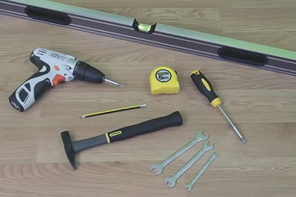 Инструменты для монтажа раздвижной двери