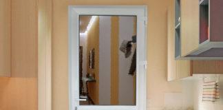 Пластиковая межкомнатная дверь