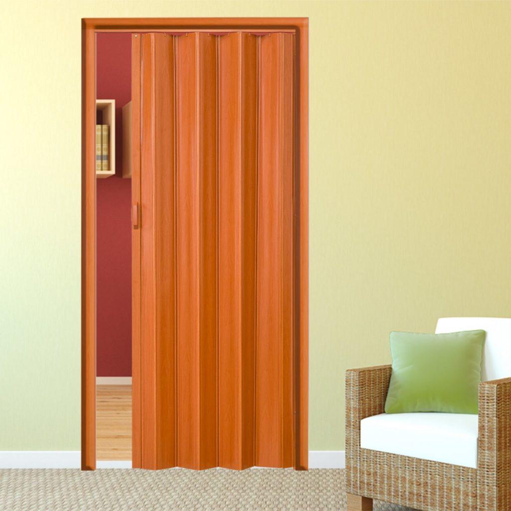 Одностворчатая складная дверь