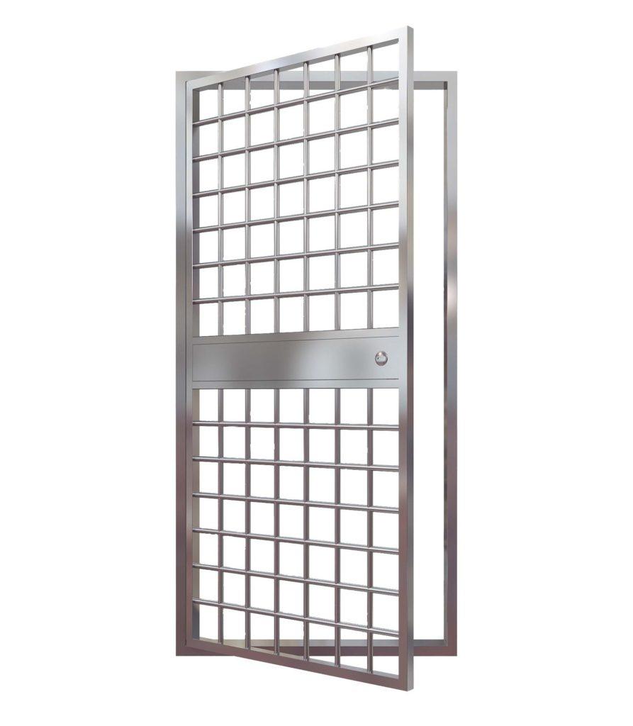 Вид двери-решетки
