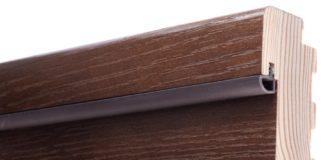 Уплотнитель на коробке деревянной двери