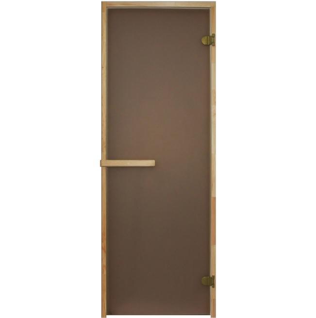 Матовая дверь для сауны