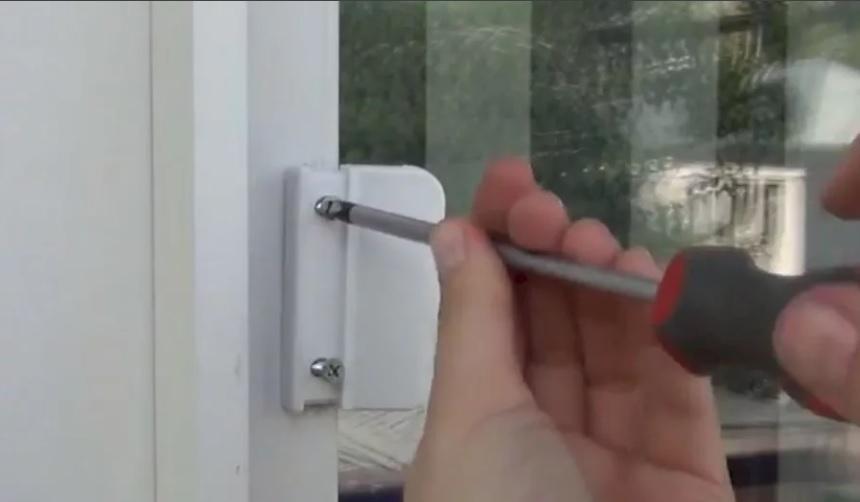 Монтаж ручки курильщика