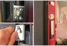 Регулировка двери из металла