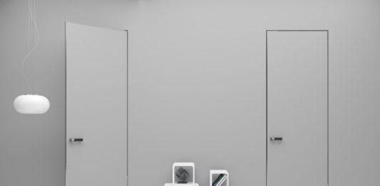 Скрытая дверь Профиль Дорс в интерьере