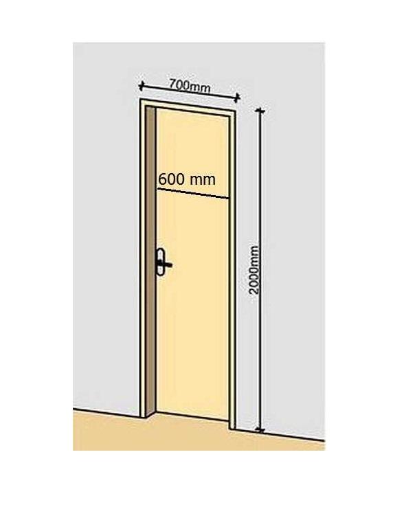 Двери 60 см