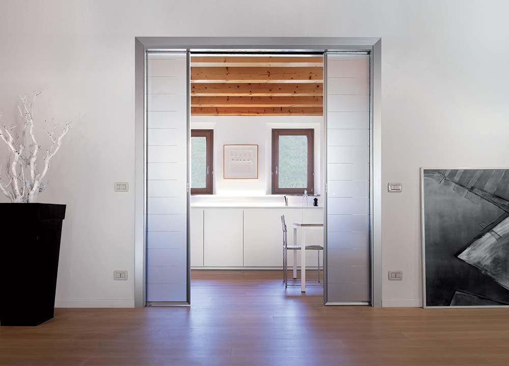 Раздвижная дверь-пенал